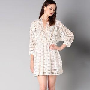 IRO Leonore Wrap Front Dress